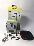 Спортивные беспроводные Bluetooth наушники Awei AK4 Black, фото 8