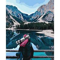 Картина за номерами Час подорожей 40х50 Brushme (Без коробки) расскраска за номерами