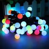 Гирлянда LED Black Line Ball 20M-2 ( 20 светящихся красочных шариков), фото 3