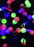 Гирлянда LED Black Line Ball 20M-2 ( 20 светящихся красочных шариков), фото 4