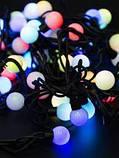 Гирлянда LED Black Line Ball 20M-2 ( 20 светящихся красочных шариков), фото 6