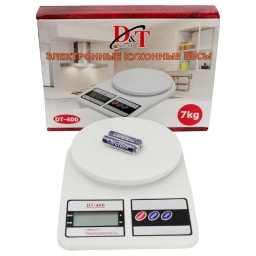 Электронные кухонные весы DT 400 D&T Smart до 10 кг