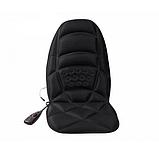 Массажная накидка на кресло Massage Seat Topper 5 вибрационная с пультом управления для дома и автомобиля, фото 5