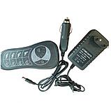 Массажная накидка на кресло Massage Seat Topper 5 вибрационная с пультом управления для дома и автомобиля, фото 6