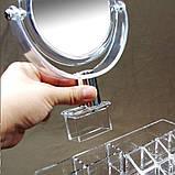 Универсальный вместительный Органайзер для косметики с Зеркалом GW-888. Лучшая Цена!, фото 6