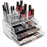 Органайзер (бокс) для косметики Cosmetic Storage Box (акриловый), фото 5