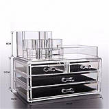 Органайзер (бокс) для косметики Cosmetic Storage Box (акриловый), фото 6