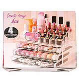 Органайзер (бокс) для косметики Cosmetic Storage Box (акриловый), фото 7