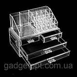 Органайзер (бокс) для косметики Cosmetic Storage Box (акриловый), фото 8