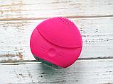 Электронная щетка для чистки лица Foreo Luna mini 2- массажёр Форео МАЛИНОВАЯ, фото 9