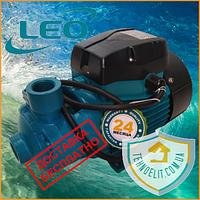 Самовсасывающий бытовой вихревой насос для воды водоснабжения частного дома LEO 3.0, 0.75кВт