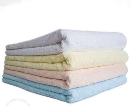 Комплект махровых полотенец ТЕП Роуз (90х50 и 140х70), 100% хлопок.