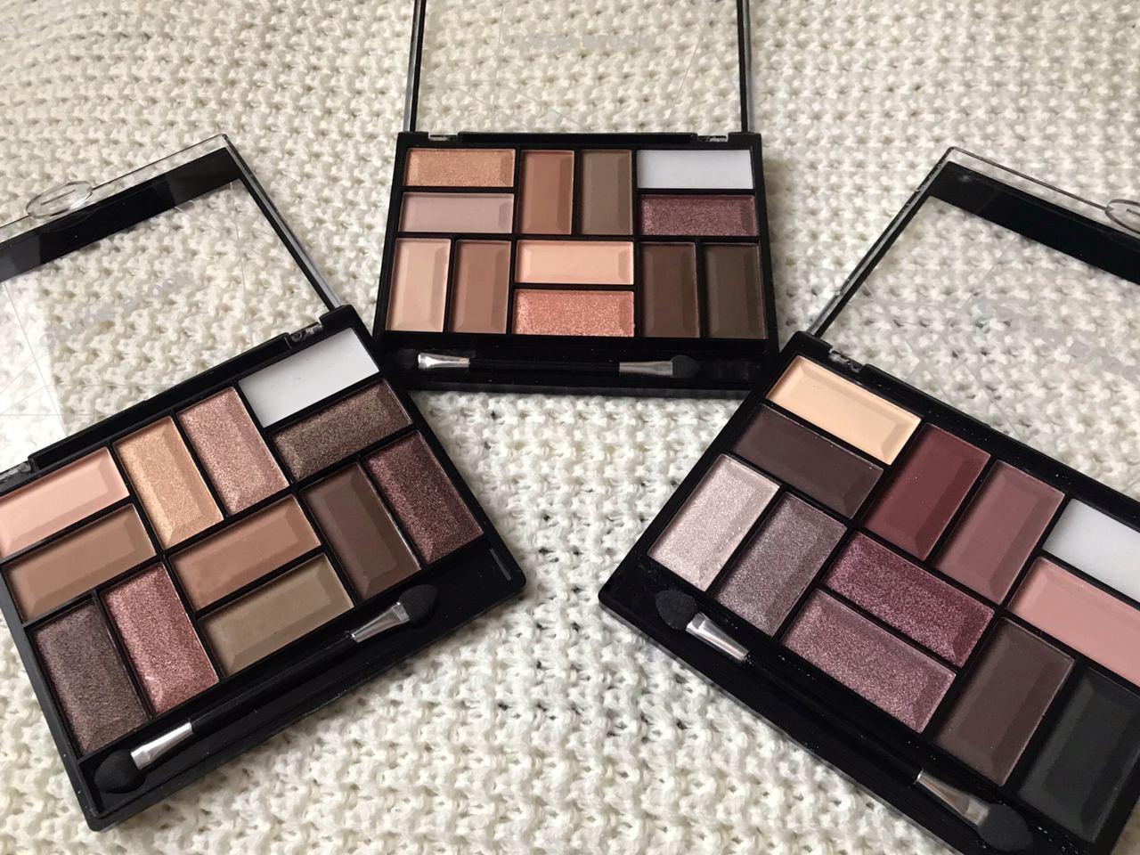 Палетка теней для век Bless Beauty Color Block Eye Shadow Palette 12 тонов