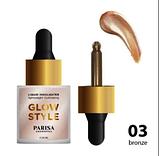 Жидкий хайлайтер для лица Parisa Cosmetics PH-03, фото 5