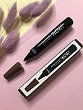 Водостойкий маркер для бровей с эффектом микроблейдинга BLESS, фото 2