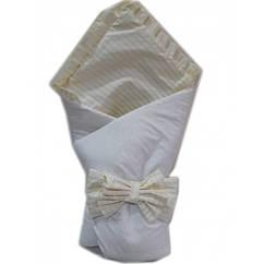 Конверт одеяло на выписку Baby 3 в 1. Жакард линия