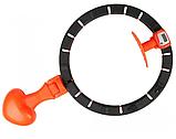 Хулахуп для похудения живота и боков Умный массажный обруч Hula Hoop, фото 2
