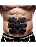Пояс Ems-trainer стимулятор мышц пресса миостимулятор для похудения, убрать живот, похудеть, фото 5