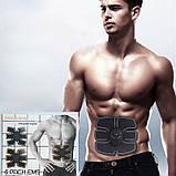 Пояс Ems-trainer стимулятор мышц пресса миостимулятор для похудения, убрать живот, похудеть, фото 9
