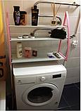 Стойка органайзер над стиральной машиной - напольные полки для ванной комнаты WM-63, фото 3