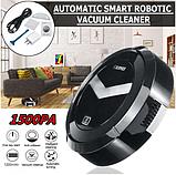 Робот Пылесос аккумуляторный умный Ximei Smart Robot на аккумуляторе 18650 заряд от USB, фото 4