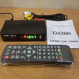 Тюнер T2 MG811 приставка с просмотром YouTube IPTV WiFi HDMI USB MEGOGO, фото 7