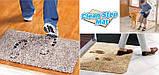 Супервпитывающий придверный коврик Clean Step Mat / Коврик грязезащитный, фото 8
