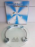 Весы Напольные Круглые Стеклянные До 150 кг ACS 2003A, фото 5