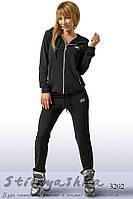 Спортивный женский костюм Dolce & Gabbana черный, фото 1