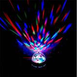 Мощный Диско-шар Magic Ball+USB MP-3 CB-0305 ЛУЧШАЯ ЦЕНА!, фото 4