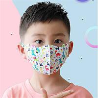 Детская Маска Питта Многоразовая Pitta Mask Kids гипоалергенные Маски для детей с принтом Купить
