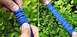 Шланг для полива X HOSE 15 м с распылителем, садовый шланг, поливочный шланг для сада СИНИЙ, фото 4