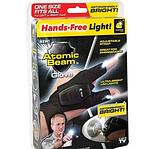 Перчатка с подсветкой на пальцах Hands Free, фото 7