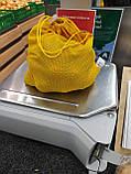 Набор из 3-х многоразовых мешочков для продуктов желтый, фото 6