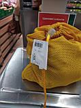 Набор из 3-х многоразовых мешочков для продуктов желтый, фото 7