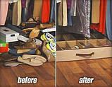 Компактный Органайзер для хранения до 12 пар обуви Shoes-under. Лучшая Цена!, фото 4