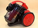 Колбовый мощный пылесос Crownberg CB-0111 2400W, фото 3