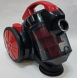 Колбовый мощный пылесос Crownberg CB-0111 2400W, фото 4