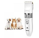 Профессиональная машинка для стрижки животных Gemei GM-634 USB, фото 2