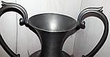 Оловянная ваза-амфора, клеймо, винтаж, Европа, фото 2