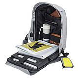 Рюкзак Bobby Бобби с защитой от карманников антивор USB разъем, фото 8