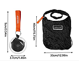 Складная компактная сумка-шоппер Shopping bag to roll up WN04, фото 2