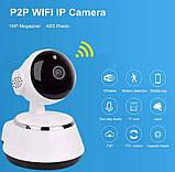 Камера видеонаблюдения WIFI Smart NET camera Q6, веб вай фай, Web камера онлайн wi-fi, с записью, фото 4