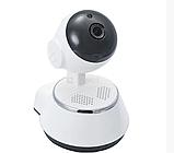 Камера видеонаблюдения WIFI Smart NET camera Q6, веб вай фай, Web камера онлайн wi-fi, с записью, фото 6