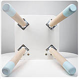 Детский стол и 1 стул (деревянный стульчик бабочка и прямоугольный стол), фото 5