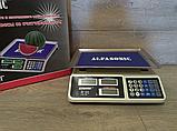 Торговые электронные весы Alfasonic AS-A072 до 50 кг, фото 3