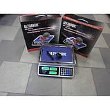 Торговые электронные весы Alfasonic AS-A072 до 50 кг, фото 5