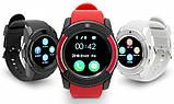 Сенсорные Smart Watch V8 смарт часы умные часы КРАСНЫЕ, фото 9
