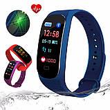 Фитнес браслет M5 Band Smart Watch Bluetooth 4.2, шагомер, фитнес трекер, пульс, монитор сна, фото 6