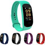 Фитнес браслет M5 Band Smart Watch Bluetooth 4.2, шагомер, фитнес трекер, пульс, монитор сна, фото 7